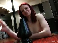 Hot Nasty Chicks Suck On Big Sex Toys 1
