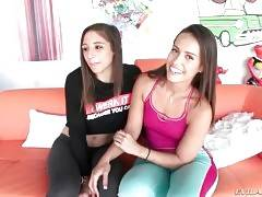 Abella Danger And Kelsi Monroe Are Very Naughty Girls 1